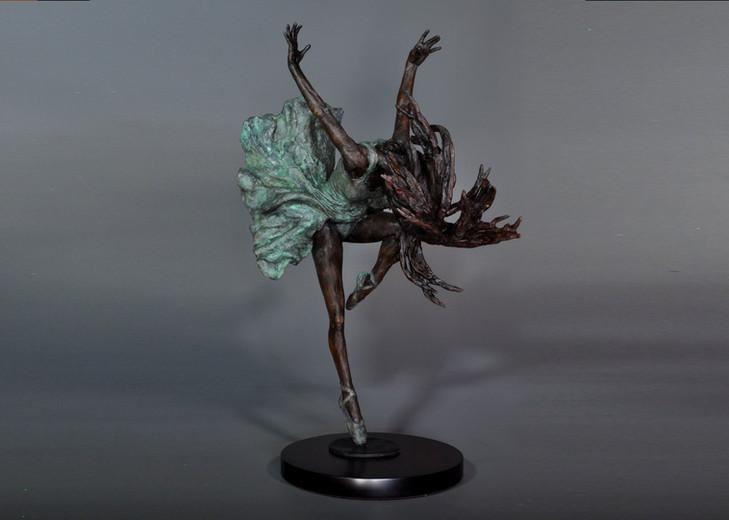 Prima Ballerina. Height 70cm x 60 cm wide