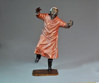 Archbishop Desmond Tutu. Height45cm