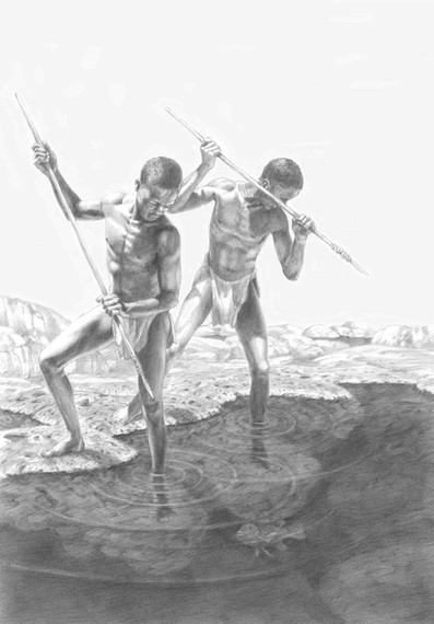 Spear Fishermen