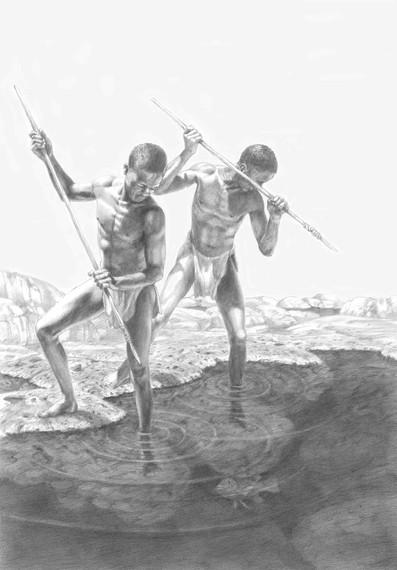 Spear Fishermen