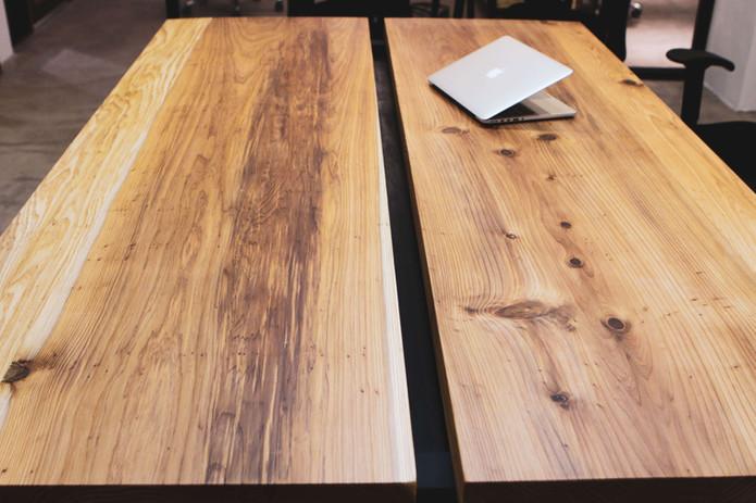 200*75公分原木桌