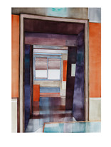 VENISE 2.jpg Aquarelle abstraite contemporaine Eliane Pouhaer