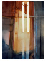 UNTITLED (Light) 2020 Aquarelle Eliane Pouhaer