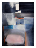 ORDRE & CONFUSION 2019 Aquarelle abstraite contemporaine Eliane Pouhaer