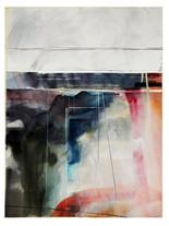 EFFERVESCENCE 2020 aquarelle Eliane Pouhaer