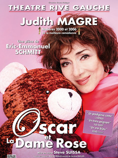 OSCAR ET LA DAME ROSE avec Judith MAGRE