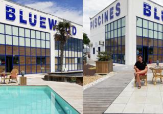 BLUE WOOD transforme en quelques minutes «votre piscine en terrasse»