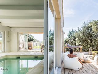 Les Petits Gardons, une villa design comme gîte