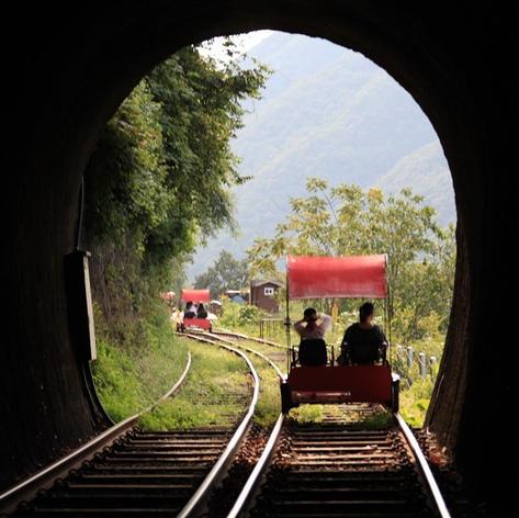 دراجة السكة الحديدية