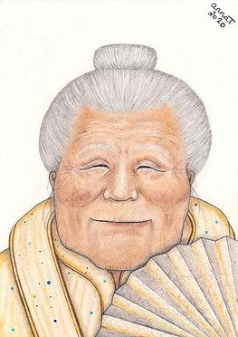 Anna Trew Spirit Artist Chinese Noblewoman