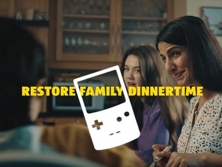 ALDI in difesa della cena in famiglia
