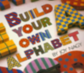 build your own alphabet book cover