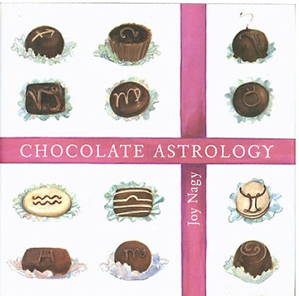 chocolate astrology book cover