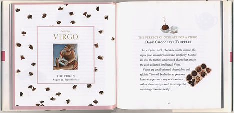 chocolate astrology virgo spread