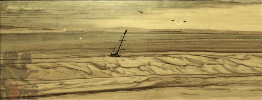 Картина маркетри Инкрустация Интарсия Ценные породы дерева