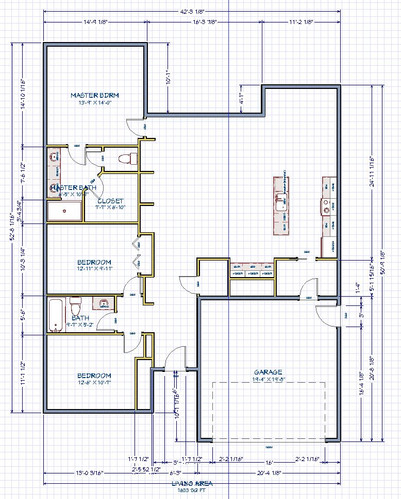 NILE 2D FLOOR PLAN