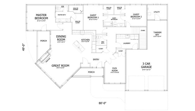 2D Floor Plan