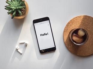 Telefon na biurku