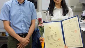 2018.09.14:卒業式