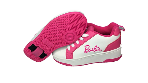BARBIE HOT PINK AND WHITE