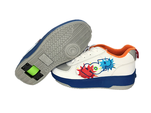 HEELYS POP WHITE AND COLOURFUL
