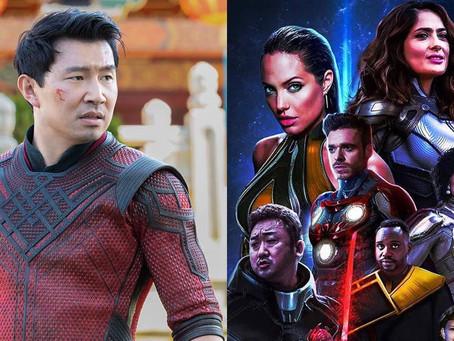 """""""Os Eternos"""" e """"Shang-Chi"""", da Marvel, podem ser banidos na China"""