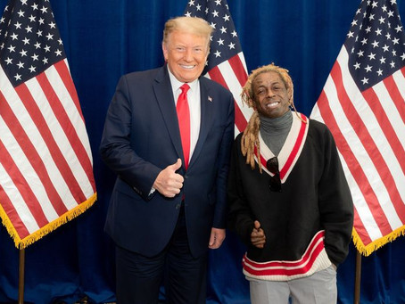 Rapper Lil Wayne elogia Donald Trump