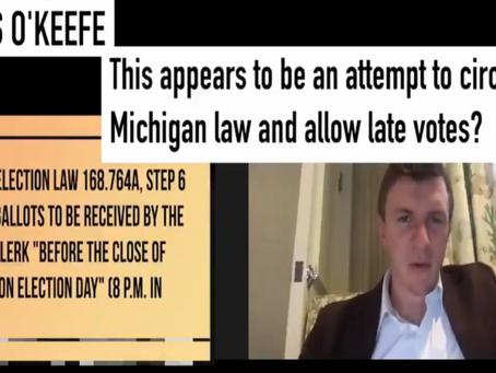 Fraude eleitoral: Projeto Veritas mostra vídeo da denúncia do USPS / Michigan