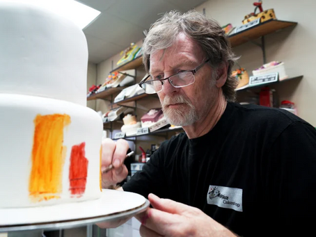 """Jack Phillips apela à decisão sobre o bolo de """"transição de gênero""""."""