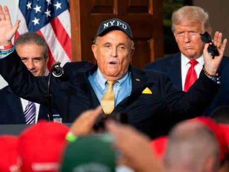 Rudy Giuliani e Sidney Powell: tem evidências suficientes para virar os resultados de vários estados