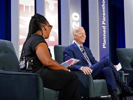 "Planned Parenthood comemora a ""vitória"" de Joe Biden"