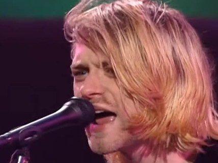 Você pode comprar os fios de cabelo de Kurt Cobain.