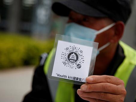 China propõe sistema GLOBAL de código QR de saúde
