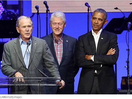 Bush e Clinton prometem se juntar a Obama para vacinação na televisão