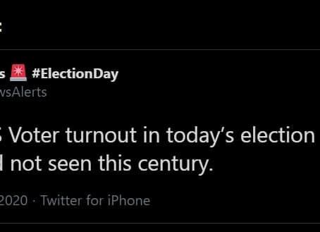 Contas removidas pelo Twitter durante a cobertura das eleições