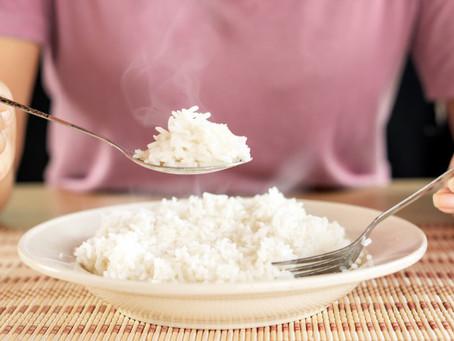 E o arroz, tá soltinho?
