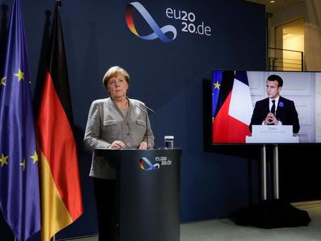 Merkel pede reforma da fronteira após ataques terroristas
