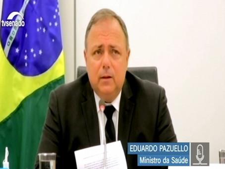 Brasil recebe 15 milhões de doses de vacina contra covid até fevereiro