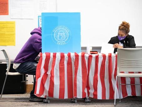 """Condados da Geórgia e Michigan que usaram o mesmo software encontram """"falha"""""""