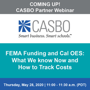 COMING UP! CASBO Partner Webinar