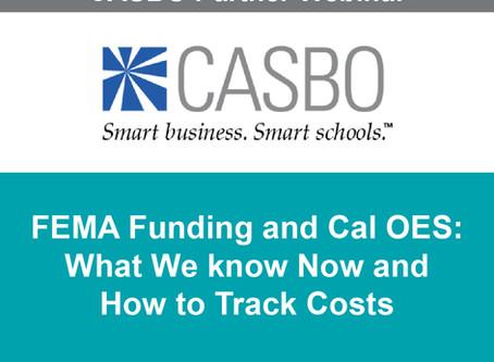 COMING UP! CASBO Partner Webinar