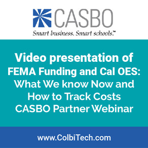 Video Presentation FEMA Funding and Cal OES: What We Know and How to Track Costs