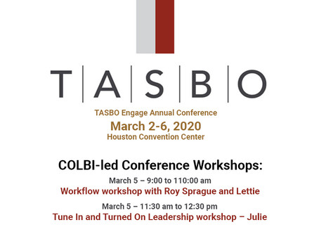 TASBO Annual Conference - March 2-6