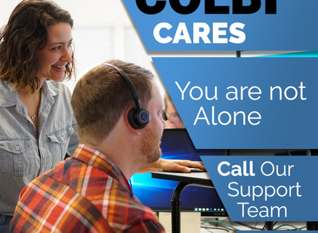 You are not alone. Call our support team!