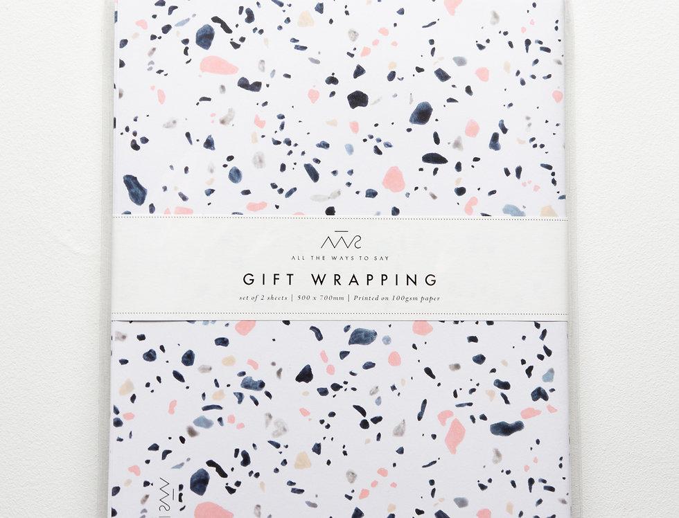 Terrazzo Gift Wrap