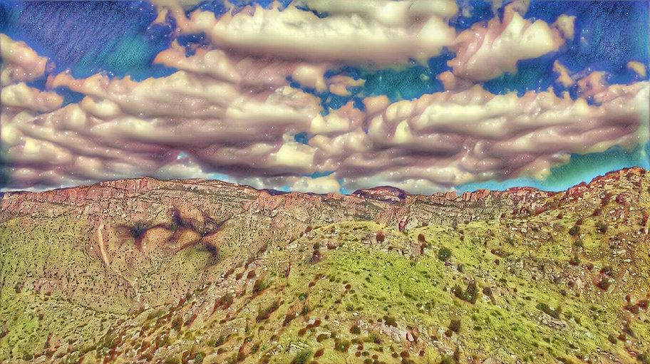 Mountain of Mt Lemmon in Tucson Arizona photograph by Shannon Sullivan