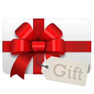 60 Minute Massage Gift Certificate