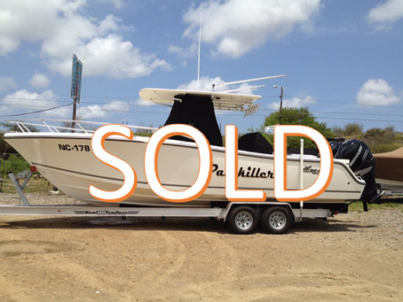 SOLD: 28ft Mako Fishing Boat