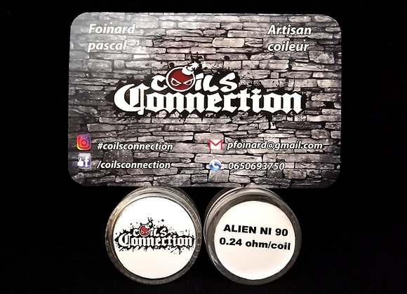Alien NI 90 By Coils Connection -  0,24 Ohm