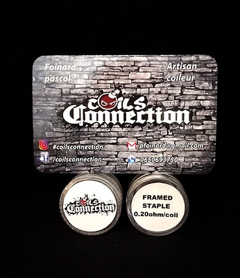Framed Stapple NI 80 (By Coils Connection)- 0,20Ohm